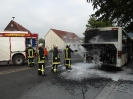 2013 06 20 - Einsatz - Linienbusbrand Romsthal vor Feuerwehrhaus