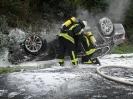 2015 09 22 - EINSATZ - Pkw-Brand nach Verkehrsunfall auf Autobahn