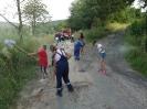 2014 07 25 - JUGENDFEUERWEHR - Zum Ferienbeginn Wegreinigung nach Unwetter