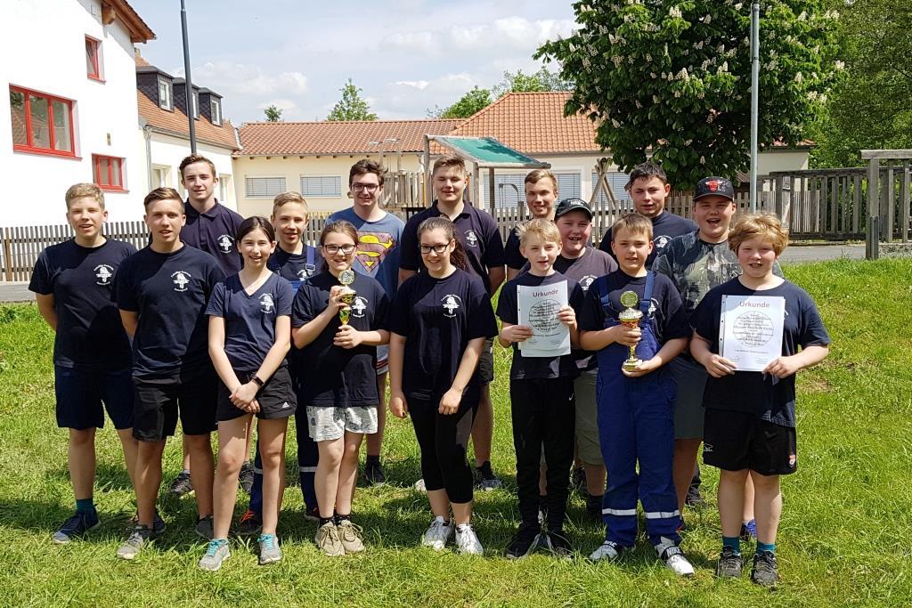 Jugendfeuerwehr Huttengrund Zweimal Sieger